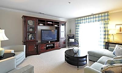 Living Room, The Heritage At Settlers Landing, 1