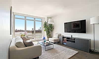 Living Room, 164 Kent Ave 17-C, 1