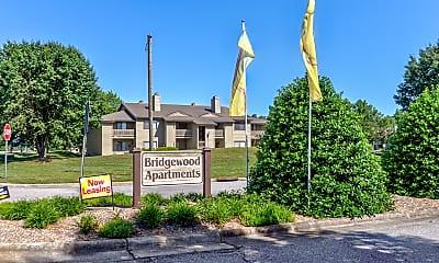 Community Signage, Bridgewood Apartments, 2
