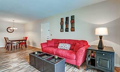 Living Room, Massman Manor/Starlight Apartments, 1