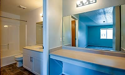 Bathroom, Park West Club, 2