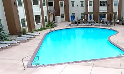 Pool, The Republic Student Living, 2