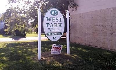 West Park Apartments, 1