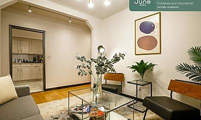 Living Room, 615 W 136th St, 1