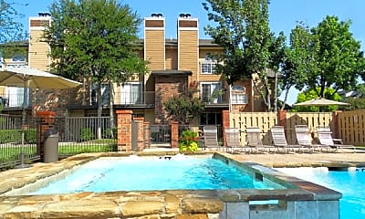Pool, Fairway Greens Apartments, 0
