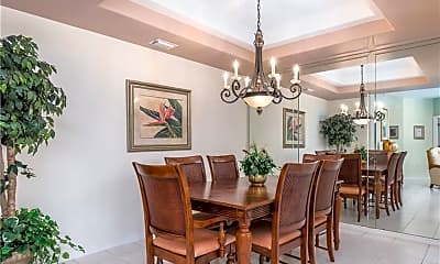 Dining Room, 23501 Wisteria Pointe Dr 1203, 1
