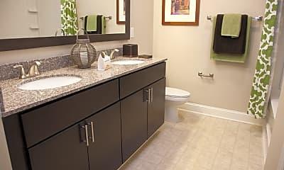 Bathroom, Piedmont Place Apartments, 2