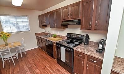 Kitchen, Cherry Lane Apartments, 1