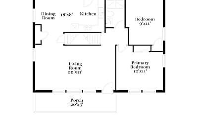 Building, 3980 Halsey Pl, 1