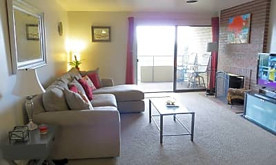 Living Room, 800 Pearl St #509, 1