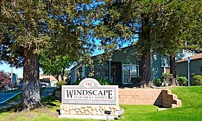 Community Signage, Windscape Apartments, 2