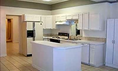Kitchen, Happy Days Apartments, 1
