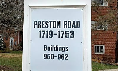 Community Signage, 1725 Preston Rd, 1