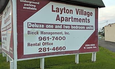 Layton Village Apartments, 1