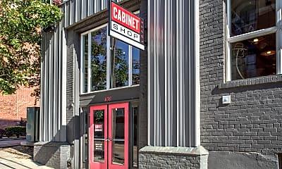 Community Signage, Cabinet Shop Lofts - Memphis Downtown Lofts, 0