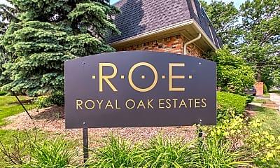 Community Signage, Royal Oak Estates, 2