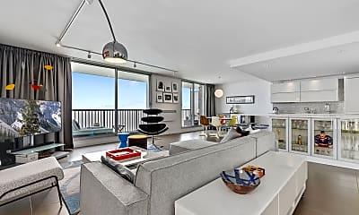Living Room, 5855 N Sheridan Rd, 1