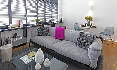 Living Room, 340 3rd Street Apartments, 1