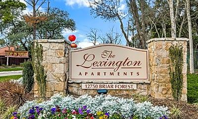 Community Signage, The Lexington Apartments, 0