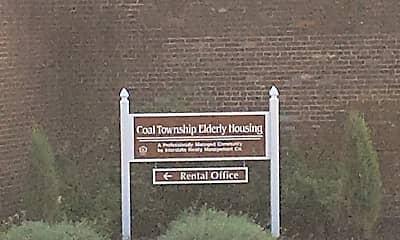 Coal Township Elderly, 1