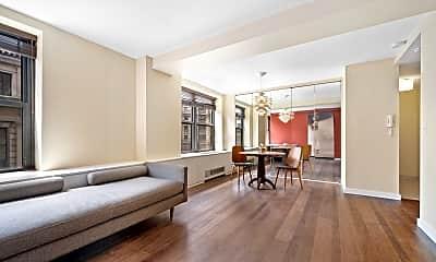 Living Room, 201 W 74th St 10-H, 0