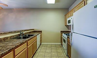 Kitchen, Plum Tree Apartments, 1