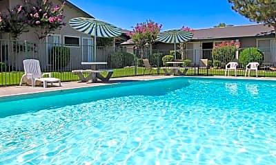 Pool, Fashion Square Apartments, 0