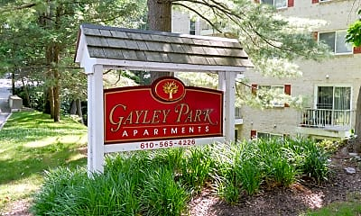 Community Signage, Gayley Park Apartments, 0