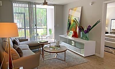 Living Room, Advenir at Aventine, 1