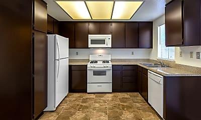 Kitchen, Linden Court, 1