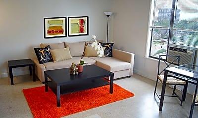 Living Room, River Parks Lofts, 0