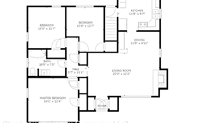 Building, 420 Ashworth Rd, 2