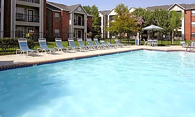 Pool, Privateer Place Student Village, 1