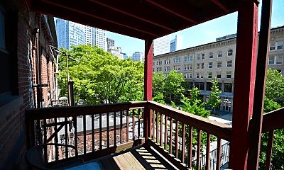 Patio / Deck, 18 Hudson St, 2