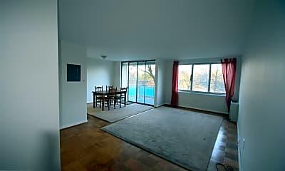 Living Room, 10201 Grosvenor Pl 412, 1