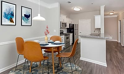 Dining Room, Grand Oasis Apartments, 1