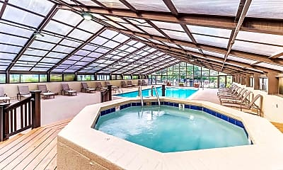 Pool, Elm Creek Apartments and Townhomes, 1