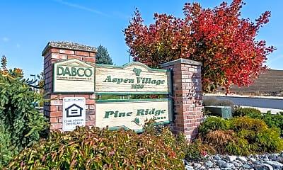 Community Signage, Aspen Village, 2