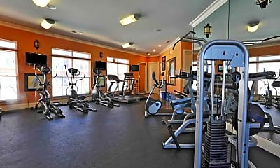 Fitness Weight Room, CityView Apartment Homes, 2