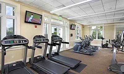 Fitness Weight Room, Summer House Apartments, 2