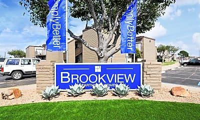 Community Signage, Brookview, 2