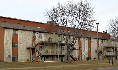 Building, White Hall Apartments, 1