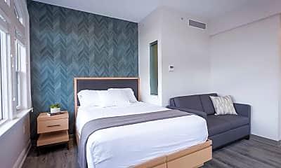 Bedroom, Case Mead Building at 76 Dorrance Street, 1