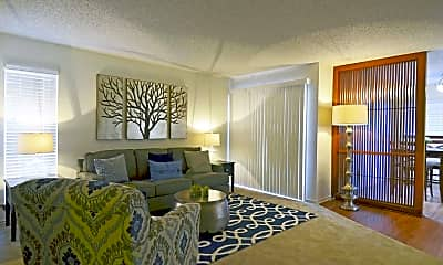 Living Room, 4000 Horizon Hill Apartments, 1