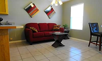 Living Room, Chateau Audubon, 1