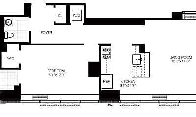 Living Room, 1113 York Ave, 2