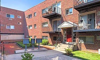 Building, Ridley Park Court Apartments, 1