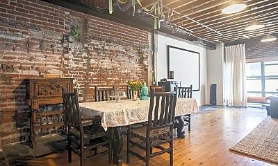 Dining Room, 100 W 5th St 3F, 2