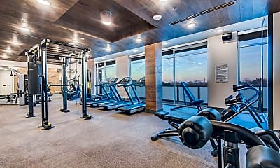 Fitness Weight Room, Jefferson Alpha West, 2