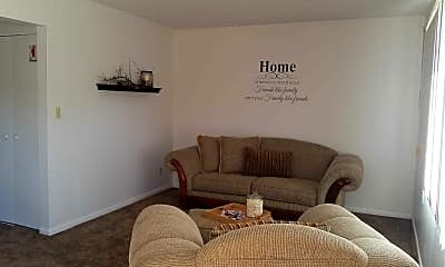 Living Room, Cambridge Townhomes, 0